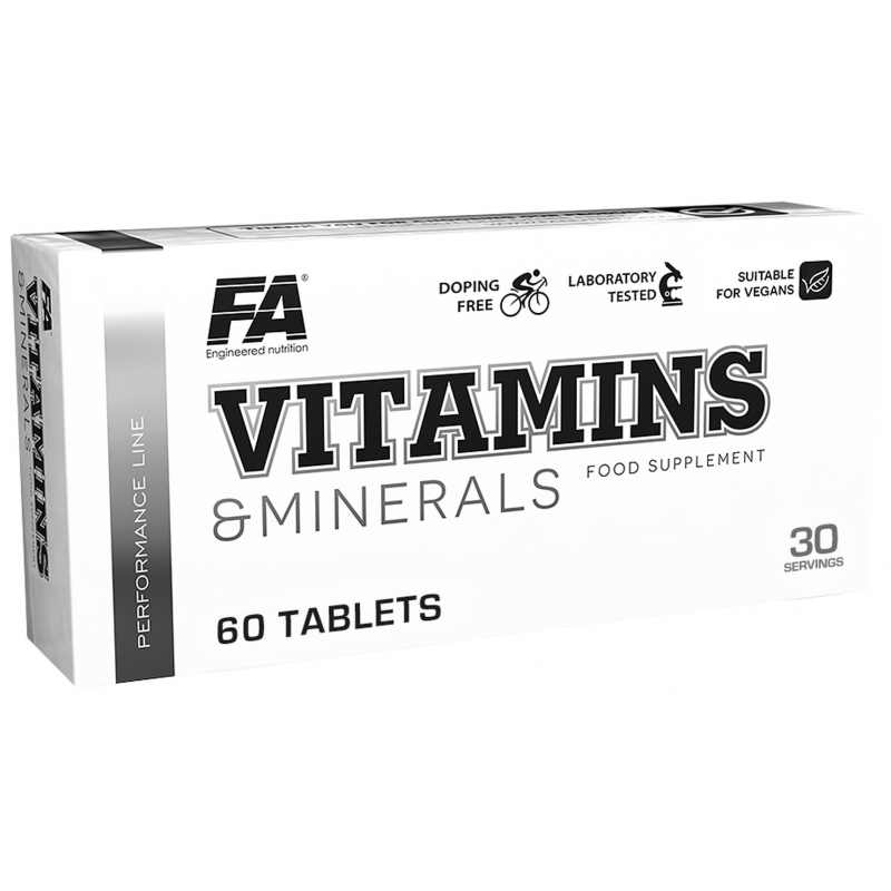 Fitness Authority Vitamins and Minerals 60 tabliet