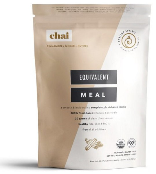 Sprout Living Epic Complete Organic Meal Chai 520g