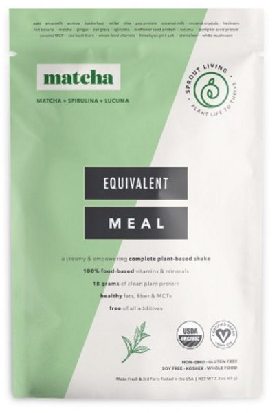 Sprout Living Epic Complete Organic Meal Matcha 65g