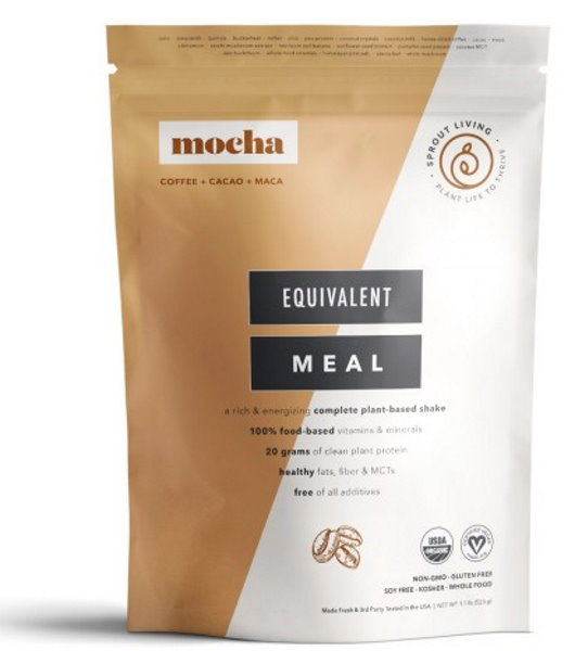 Sprout Living Epic Complete Organic Meal Mocha 520g