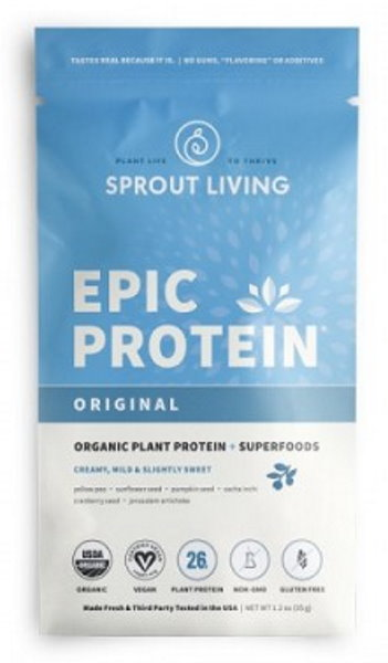 Sprout Living Epic proteín organic Natural 35g