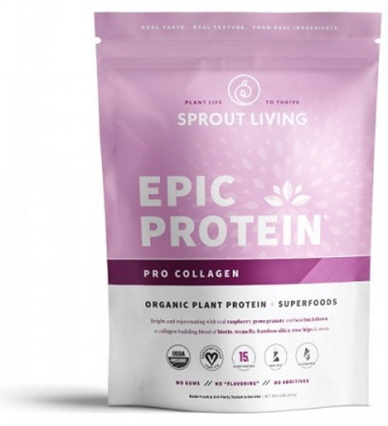 Sprout Living Epic proteín organic Pre Collagen 364g