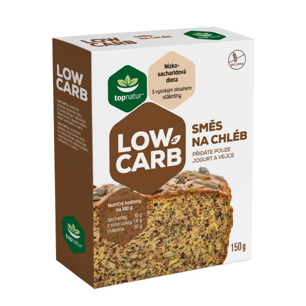 Topnatur Low Carb Zmes na chlieb 150g